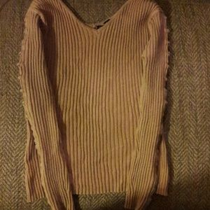Ribbed Style Sweater